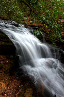 Waterfall in the Chattahoochee National Forest