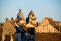 Sunset Light on Provins, France