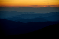 Twilight from Clingmans Dome