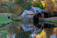 Mabry Mill in early morning light