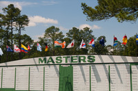 The Masters leader board