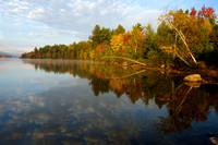 Early morning light on Taylor Pond