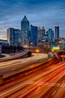 Atlanta at Dawn = portrait