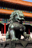 Guardian Lion in the Forbidden City