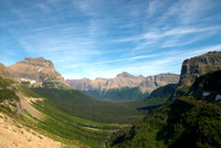 Glacier NP from Logan Pass