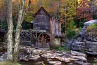 Grist Mill and Foliage