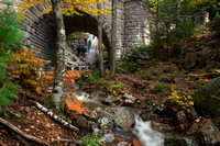 Hadlock Brook and Waterfall Bridge