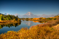 Fall Morning at Oxbow Bend
