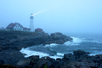 Portland Head Light and Fog