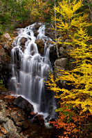 Waterfall and Colorful Foliage