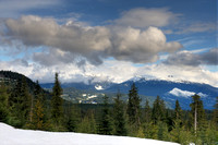 View from Road to Whistler Olympic Park