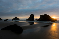 Bandon Beach and Late Afternoon Light